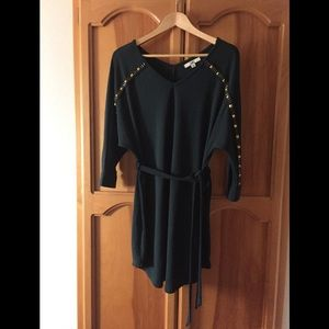 Emerald Tunic Dress